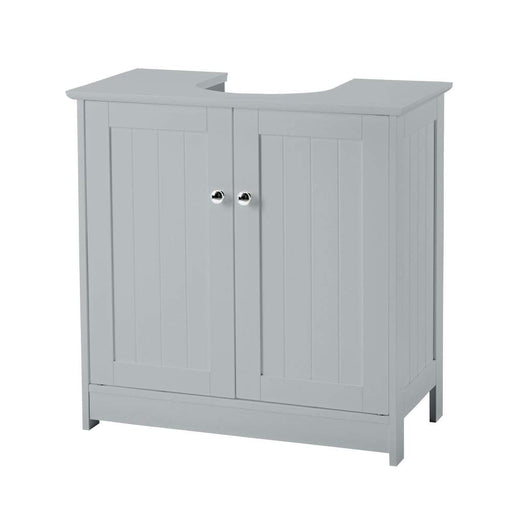 Grey Alaska 2 Door Vanity Unit
