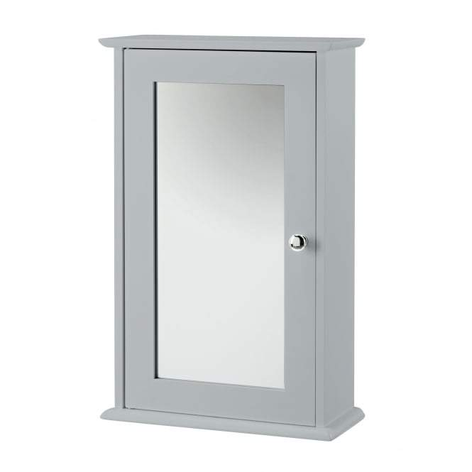 Grey Alaska Wall Cabinet with Mirror