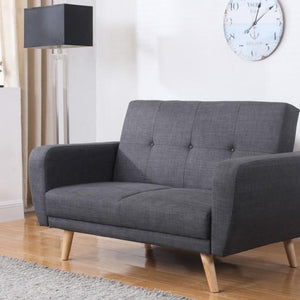 Grey Birlea Farrow Medium Sofa Bed