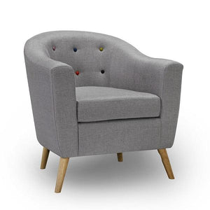 Grey Hudson Armchair