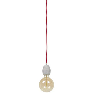 Grey Ceiling Lamp HL00570GR