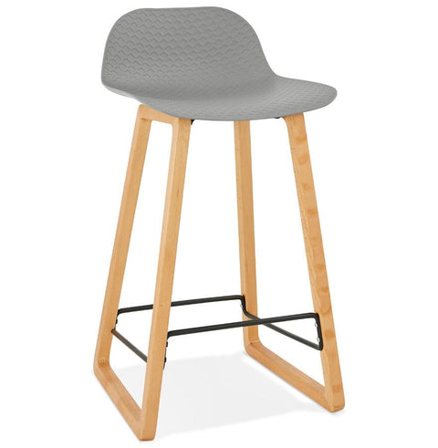 Grey Modern Astoria Bar Stool