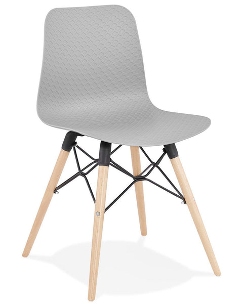 Grey Modern Ginto Dining Chair