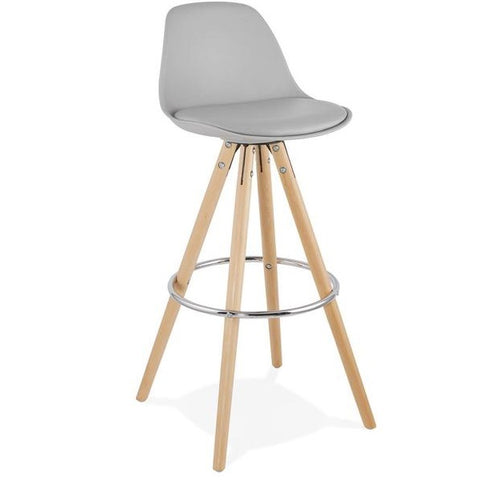 Grey Retro Anau Bar Stool