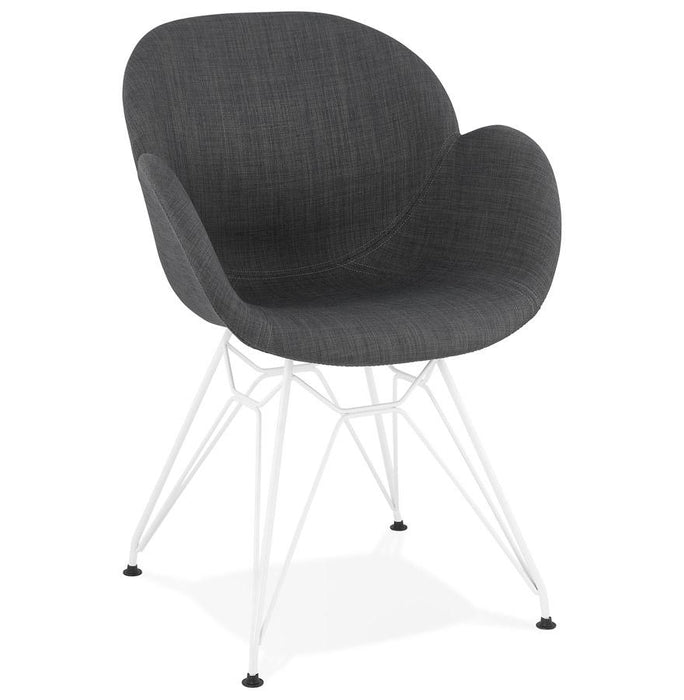 Grey Retro Lider Dining Chair