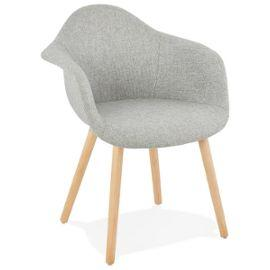 Grey Retro Loko Armchair