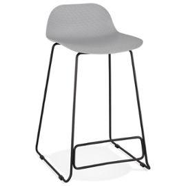 Grey Slade Mini Bar Stool
