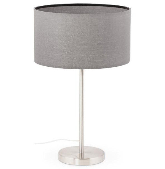 Grey Table Lamp TL00250GR