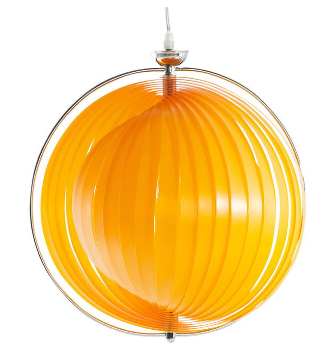 Orange Modern Kokoon Emily Hanging Lamp HL00140OR
