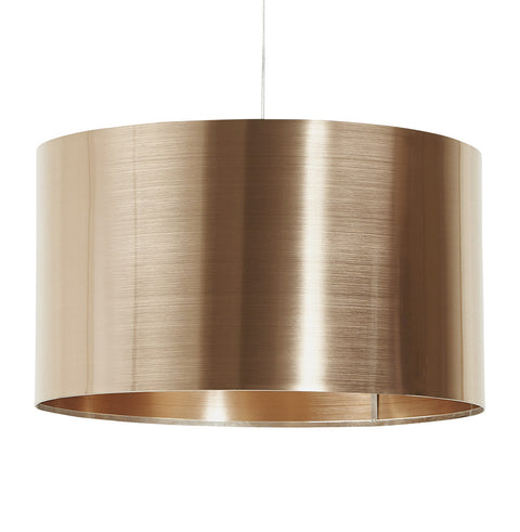 Copper Contemporary Kokoon Tabora Lampshade HL00360CO