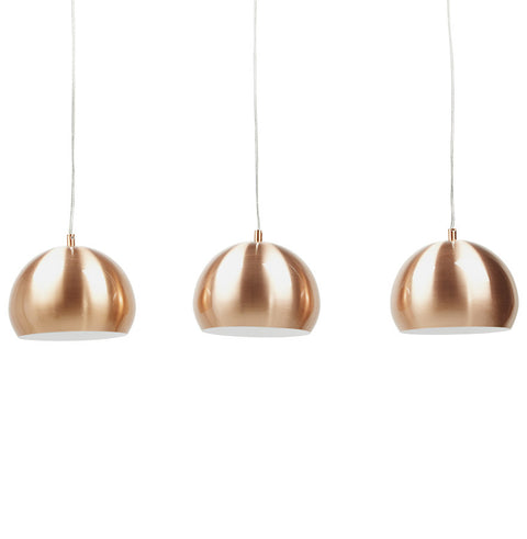 Copper Modern Kokoon Trika Ceiling Light HL00380CO