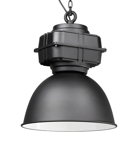 Black Contemporary Kokoon Teol Ceiling Light HL00420BL