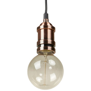 Copper Modern Kokoon Subteno Hanging Light HL00480CO