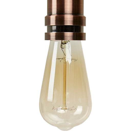 Clear Stylish Kokoon Bulbo Hanging Light HL00500CL