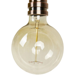 Clear Contemporary Bulbo Hanging Light HL00510CL