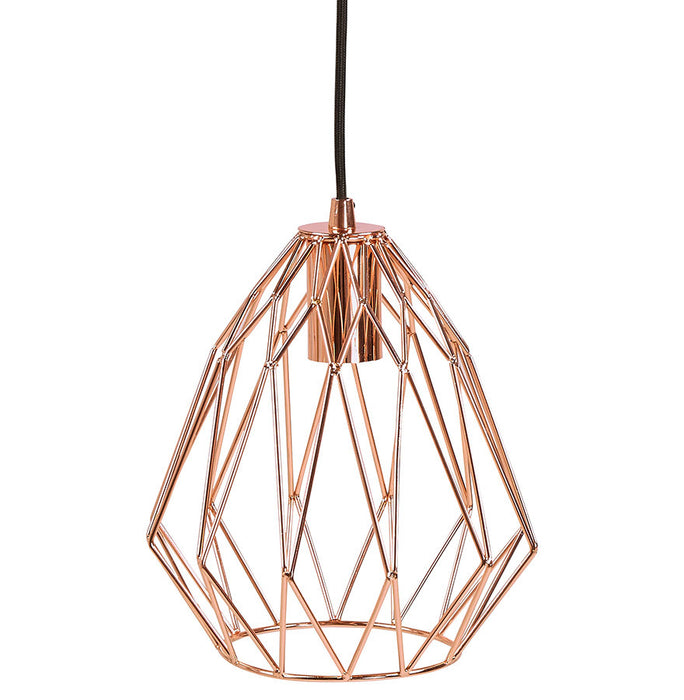 Copper Modern Kokoon Paral Hanging Light HL00520CO