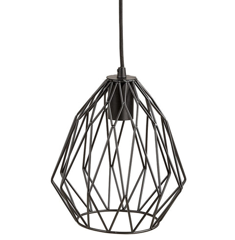 Black Stylish Kokoon Paral Hanging Light HL00530BL