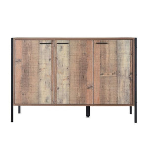 Brown Hoxton Sideboard 3 Door