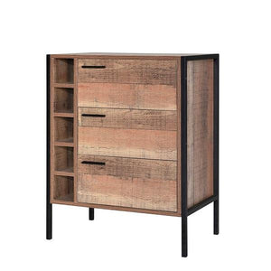 Brown Hoxton Wine Cabinet