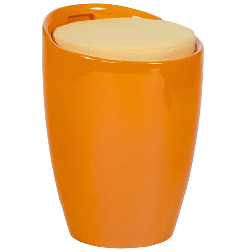 Orange Contemporary Kokoon Ese Low Stool LS00090OR