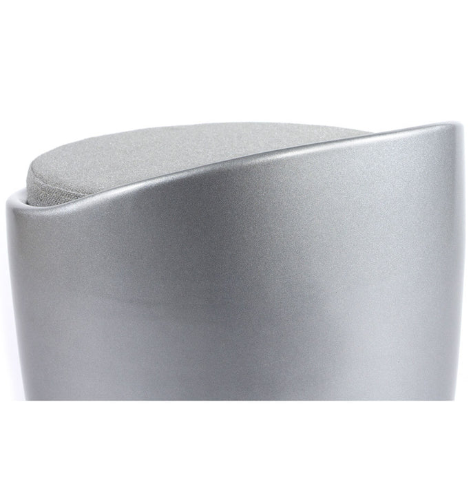 Silver Designer Kokoon Ese Low Stool LS00120SI