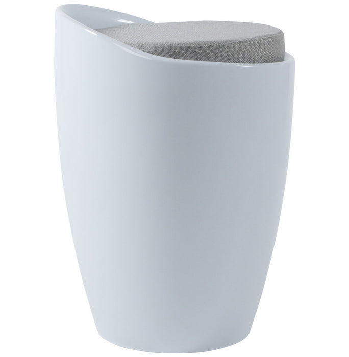 White Contemporary Kokoon Ese Low Stool LS00130WH