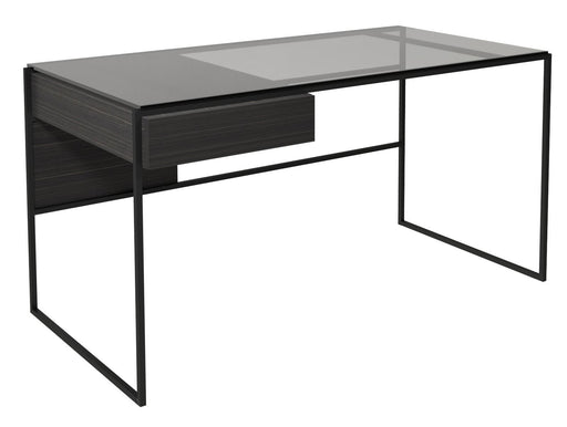 Matt Black Computer Desk