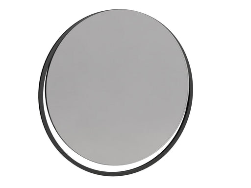 Matt Black Wall Hanging Mirror