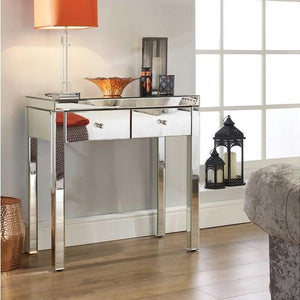 Mirrored Birlea Seville 2 Drawer Sideboard