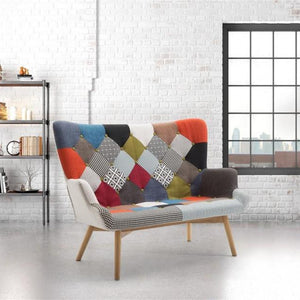 Multi-coloured Birlea Sloane Medium Sofa