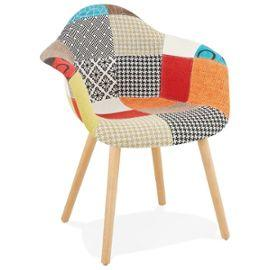 Multi Coloured Retro Loko Armchair