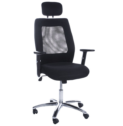 Black Modern Kokoon Dublin Office Chair OC00070BL