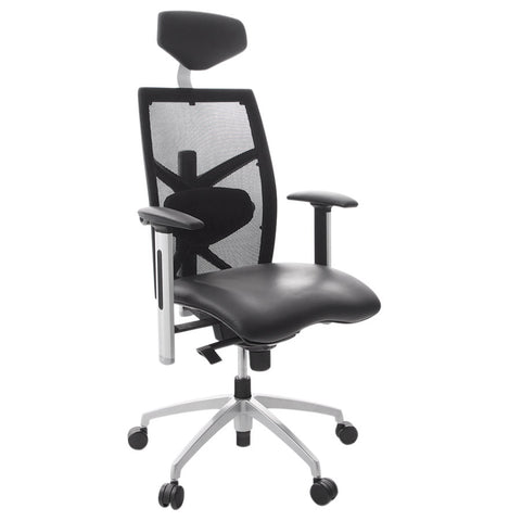 Black Contemporary Kokoon Osaka Office Chair OC00150BL