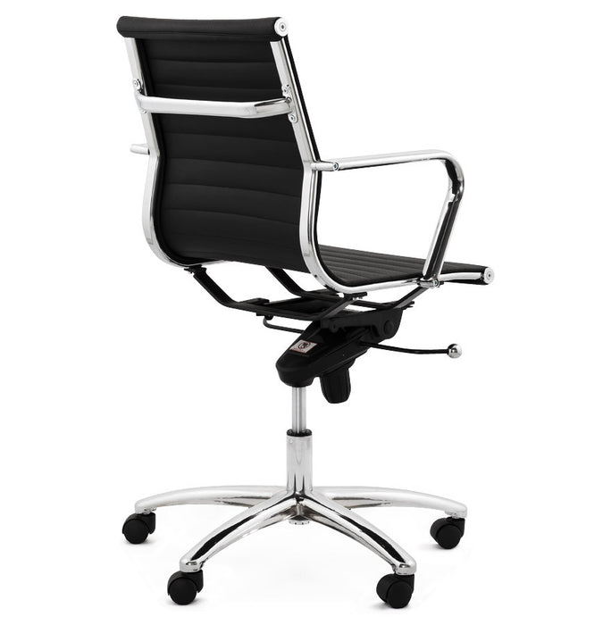 Black Contemporary Kokoon Michelin Office Chair OC00180BL
