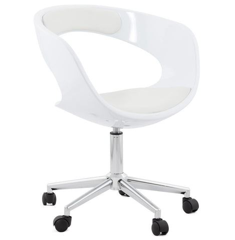 White Contemporary Kokoon Felix Office Chair OC00240WHWH