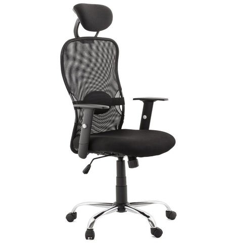 Black Modern Kokoon Soviet Office Chair OC00380BL