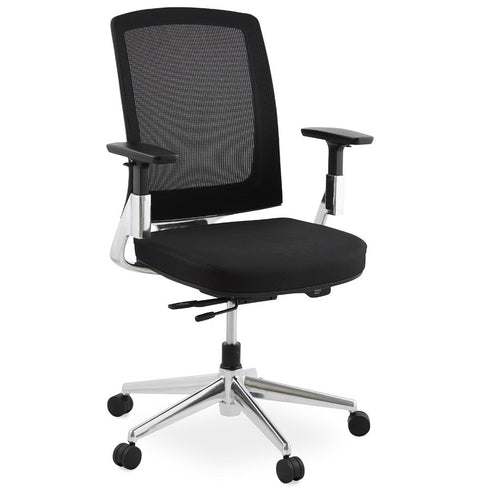 Black Modern Kokoon Tepper Office Chair OC00410BL