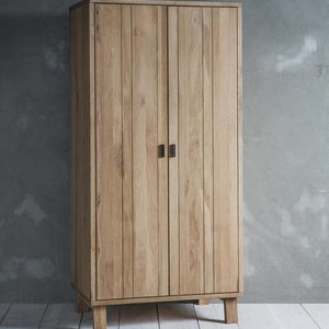 Oak Double Wardrobe
