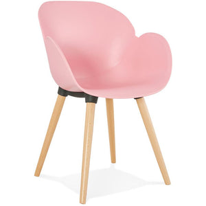 PInk Retro Sitwell Armchair