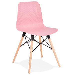 Pink Modern Ginto Dining Chair