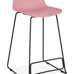 Pink Slade Mini Bar Stool