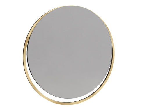 Polished Chrome Wall Hanging Mirror