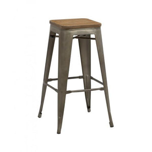 Rust Birlea Downtown Bar Stools (Sold in Pairs)