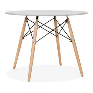Grey Dining Round Table