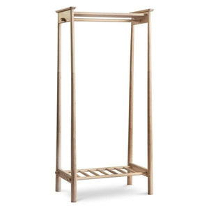 Modern Oak Open Clothes Rail