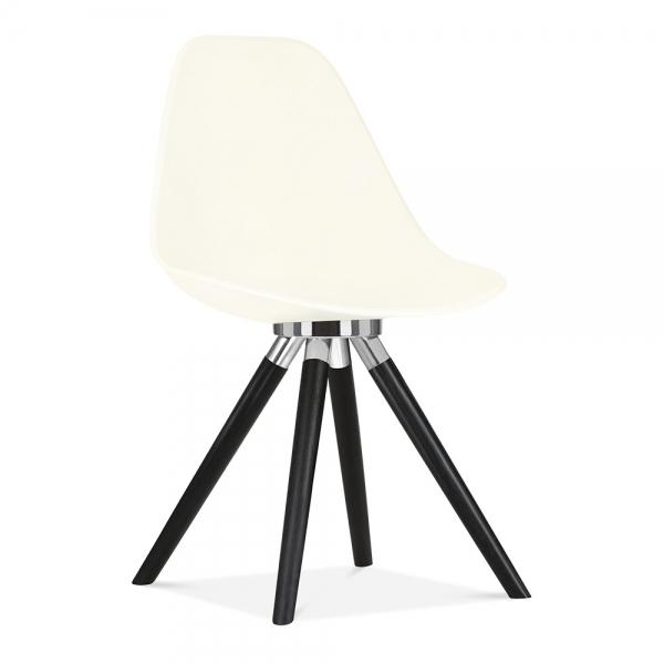 White Moda Dining Chair