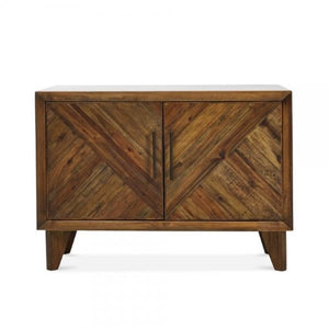 Small Light Brown Reclaimed Pine Sideboard