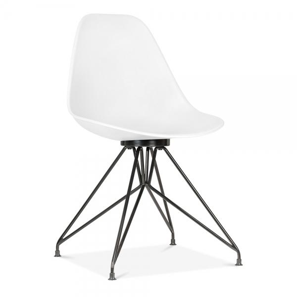 White CD1 Moda Dining Chair