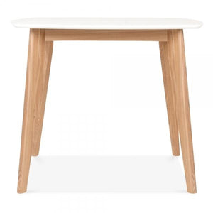 White/Natural Dining Table