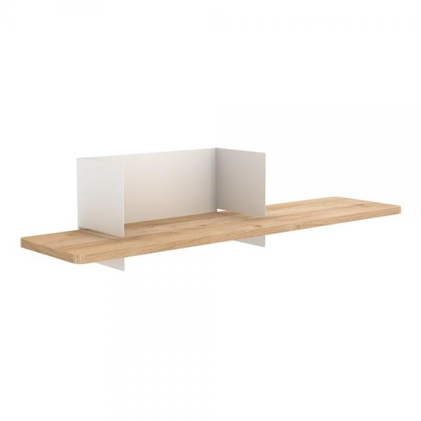 White Universo Clip Wall Shelf